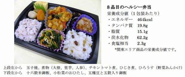 日本初、西友が日本糖尿病協会監修の健康配慮型弁当を発売