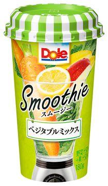 雪印メグミルク、ケールやバナナなどのベジタブル・フルーツミックスのスムージー商品を販売