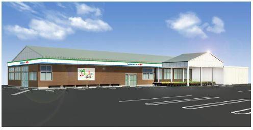 JA全農とファミマ、直売所を併設した大型コンビニエンスストアを愛媛に開店