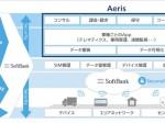 ソフトバンクがAeris社とIoTやテレマティクスのサービス構築を支援する合弁会社を設立