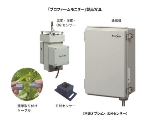 デンソーがハウス内環境をモニタリングできる農業ICTシステムを発売