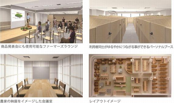 農業・食品関係者がつながるコワーキングスペースが東京銀座にオープン