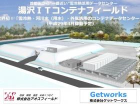 アオスフィールドなど、湯沢町に再エネ活用したコンテナ型のデータセンターを新設
