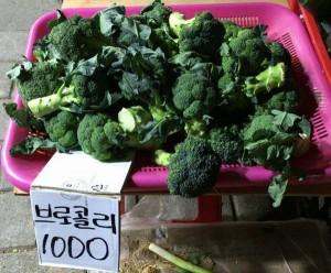 韓国にて国産にこだわる地域密着型の八百屋の現状
