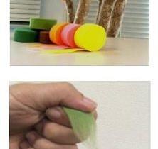 クラレ子会社「不織布<フェリベンディ>伸縮タイプ」を生け花用水揚げテープに採用