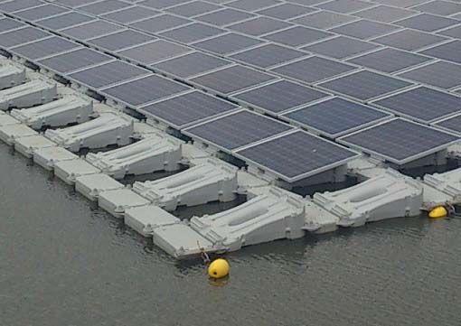 京セラなど、農業用ため池など水上設置型の太陽光発電事業に参入