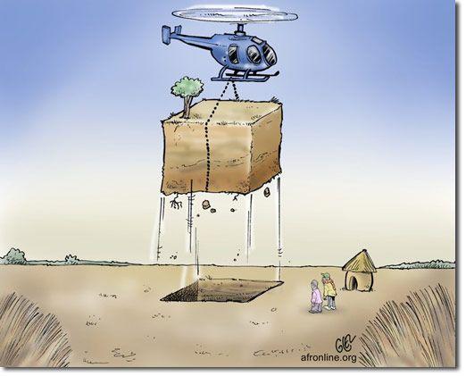 肥沃な土壌確保に積極的な先進国(ランドラッシュ)。60年後には世界的な土壌農地が消失する可能性も