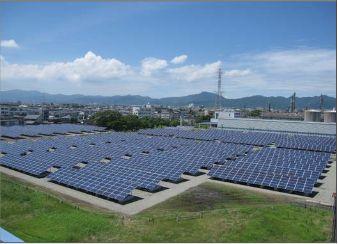 発電事業で地域社会に貢献 徳島事業所に 1.75 メガワットのメガソーラー完成