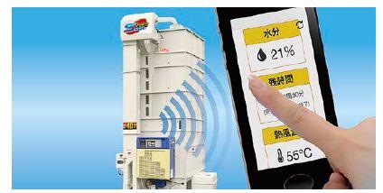 サタケ、稲作農家・農業生産法人向けの穀物乾燥機遠隔監視サービスを開始