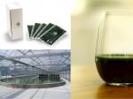 藻類スピルリナの工場的生産・販売のタベルモ、コールドプレスジュースショップとコラボ商品にて全国展開