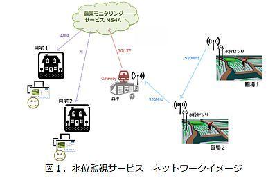 住友精密と構造計画研究所、秋田県大潟村で水田の水位監視サービスの実証実験へ