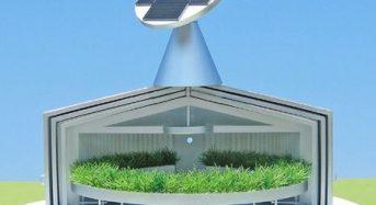 温室ハウスを応用した新たな回転式アクアポニクス装置の提案
