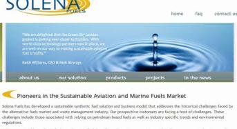 伊藤忠商事、都市ゴミなどの廃棄物からバイオ航空燃料を製造する米Solena社へ出資