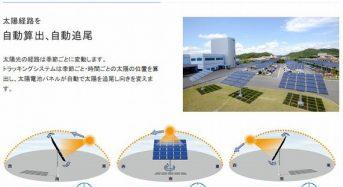 国内最大級の自動追尾型パネルによるソーラーシェアリング施設が完成