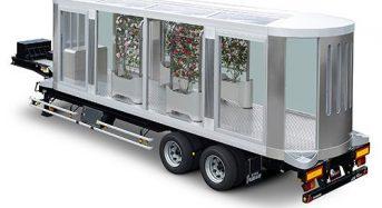 新しいタイプのコンテナ型植物工場を提案 日本フルハーフ