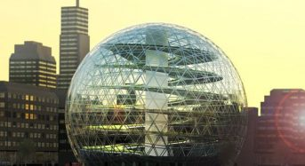 都市型農業の新しい形、デザイン性に優れた球体型植物工場を提案(Plantagon)