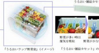 東芝ライフスタイル、低湿度になると野菜室の湿度を高める冷凍冷蔵庫を発売
