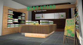 ユーイング、家庭用植物工場を利用した期間限定ショップを二子玉川にオープン