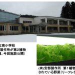 安部製作所、廃校を利用した第2植物工場プラントを稼働。投資額は6,000万円以上