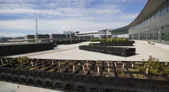 NYのジョンFケネディ空港にて、新たな都市型農業PJがスタート