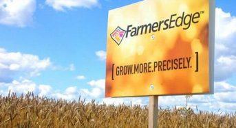 精密農業のパイオニアFarmers Edgeが三井物産などから5800万カナダ・ドルを調達
