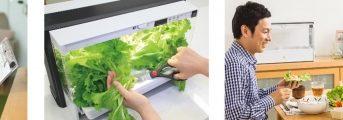 ダスキン、家庭用植物工場に観察日記ノート付きのギフトセットを特別販売