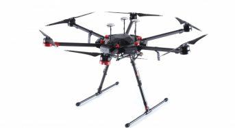 無人航空機技術のDJI、飛行性能や積載量を向上させた大型ドローンMatrice 600 Proを発表