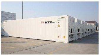 日本郵船、CA冷凍コンテナ4700本を新規調達。生鮮野菜などの海上輸送にも対応