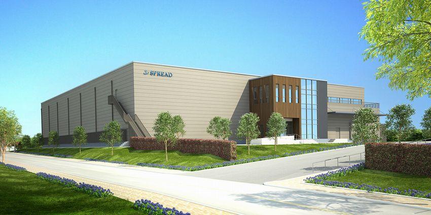 スプレッド、自動化システムを導入した世界最大規模の植物工場が着工