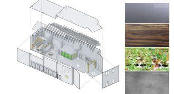 ニューヨークにて、新たなフード・コミュニティーを構築。メインフロアに植物工場も導入