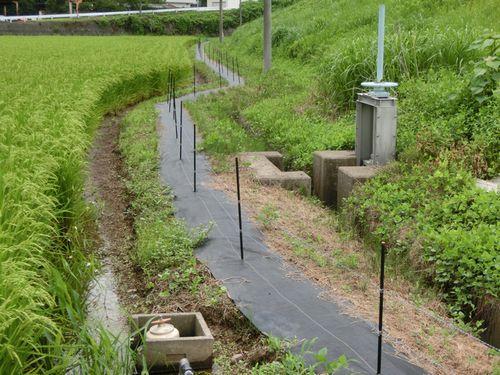 白崎コーポレーション、獣害対策用の防草シート「アース機能付き電気柵専用防草シート」を販売