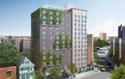 ニューヨーク、13階建て屋上ファーム付きグリーンブルディング住居が竣工