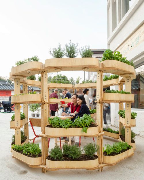 農業版レゴ・ブロック「Growmore」地産地消と快適空間を演出