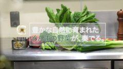 群馬県、野菜の調理音でPVを制作。農産品と観光・食と一体PR