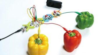 プラススタイル、野菜などを楽器にできる電子工作キット「HoneyComb Music Kit」を販売開始