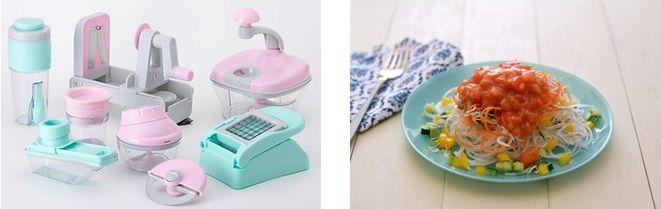貝印による野菜の摂取・時短調理に役立つ調理グッズ8種類を販売