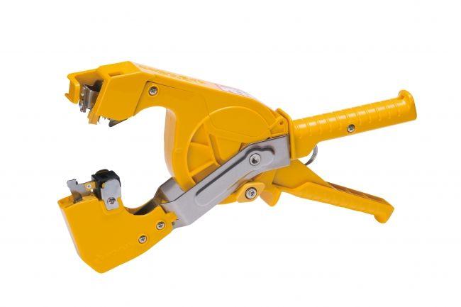 誘引結束システム「とめたつ」シリーズから、小型・軽量化で作業性向上を実現した「とめたつライト」新発売