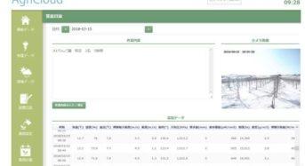 JWP、環境計測・環境制御機器と連携可能なクラウド営農日誌「あぐり日誌」を提供開始