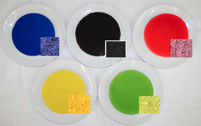 日本アドバンストアグリ、ナチュラルな食品着色料「オーガニック・カラーズ」を出展