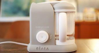 1台5役の離乳食メーカー「BEABAベビークック」スチーム調理で栄養価も保持