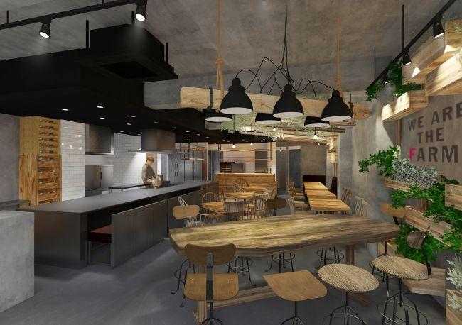 自社菜園による固定種野菜を提供するオーガニック・レストラン「WE ARE THE FARM 赤坂」がオープン