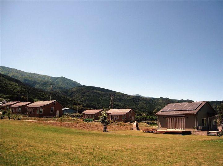 山梨・南アルプス、野菜づくりができる滞在施設「クラインガルテン」がオープン