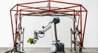 米国Iron Ox、全て作業をロボットが行う完全自動化・植物工場システムを開発