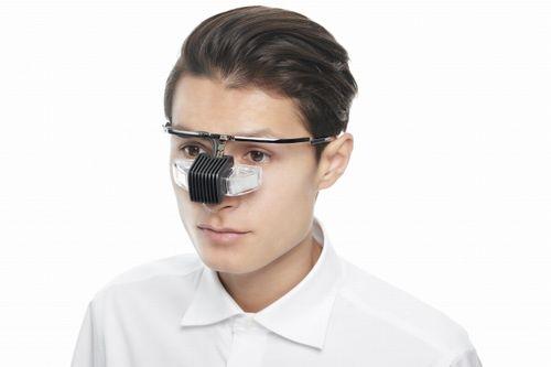 メガネ型ウェアラブル端末「b.g. ビージー」を4月より企業向けに納品開始。農業のスキル習得にも利用可能