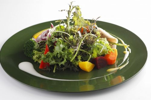 ホテルニューオータニ、20種類以上の野菜・健康をテーマにした「東京野菜のサラダバー」を提供