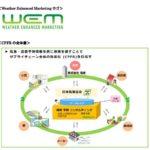 電通、日本気象協会の気象データを活用した広告マーケティング開発へ