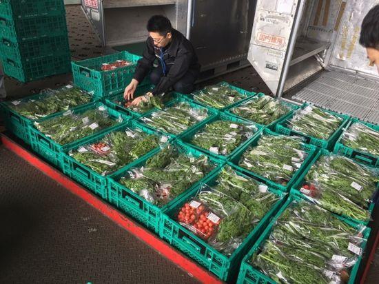 空港で野菜を集めて、全国のスーパーへ。JALx農業総合研究所による連携