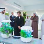 UAEマスダールシティ、植物工場を導入した住宅ショールームを開設