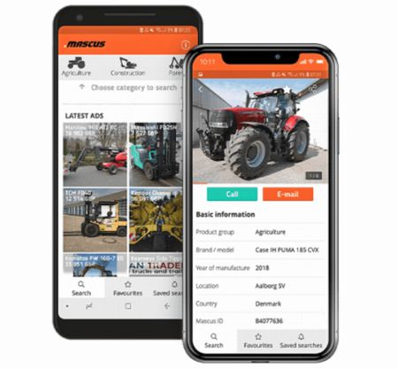 マスカス・ジャパン「中古建設・農業機械」の取引アプリを開始