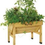 ダスキン、腰をかがめなくても作業可能な家庭菜園『レイズドベッド』を販売